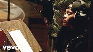 Rihanna Bitch Better Have My Money In Studio Behind The