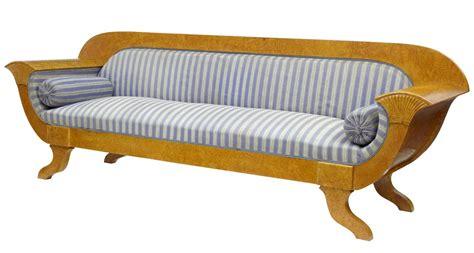biedermeier settee 19th century biedermeier birch sofa settee ebay