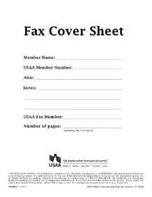exle of a fax cover sheet for a resume usaa resume member services