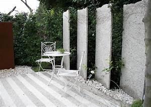 Sichtschutz Im Garten : sichtschutz am sitzplatz im garten sichtschutz und ~ A.2002-acura-tl-radio.info Haus und Dekorationen