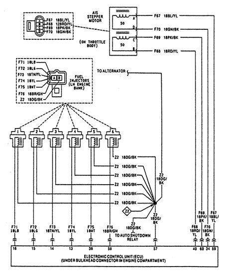 1991 Jeep Fuel Injection Wiring Diagram by I A 91 Wrangler 4 0 That Starts And Then Cuts Out