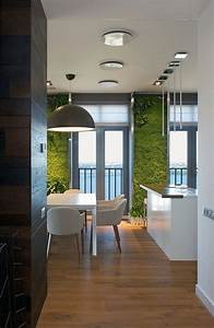 Accent, Green, Walls, For, A, Stylish, Apartment