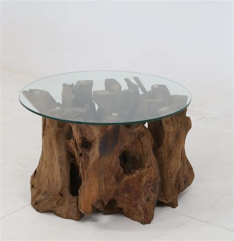 Urban organic chic rectangular teak coffee table. Rustic Teak Root Coffee Table | 721668 | Cocktail Tables | Price Busters Furniture