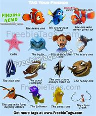 Finding Nemo Cartoon Characters See All