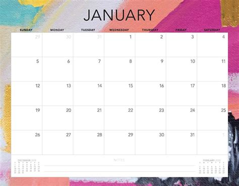printable calendars  designs  choose