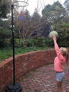 Blank Netball Court Template