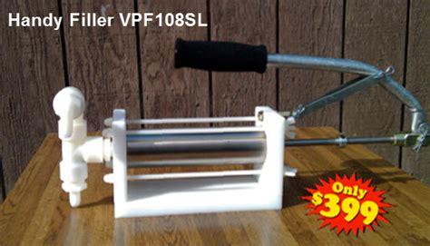 bottle filling liquid filling manual filling piston filler machines