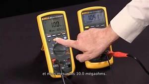 Comment Mesurer Amperage Avec Multimetre : mesurer une r sistance d isolement avec le fluke 1587 ~ Premium-room.com Idées de Décoration