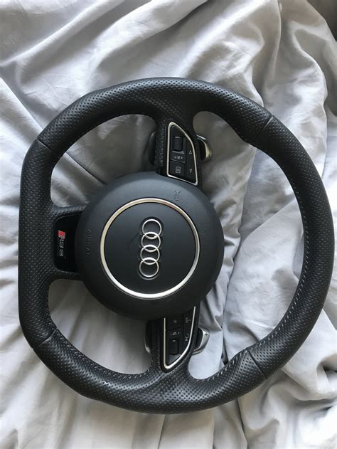 rs steering wheel retrofit audi sportnet