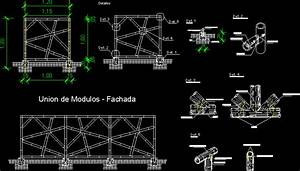 Bamboo Detail - Enclosure DWG Detail for AutoCAD • Designs CAD