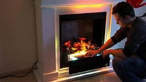 Elektrokamin 3d Flammeneffekt : premium p10 elektrokamin teil 1 funktion wasserdampf feuer rf10 kamin youtube ~ Markanthonyermac.com Haus und Dekorationen