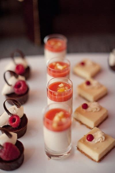 mini table cuisine hors d 39 oeuvres ideas desserts