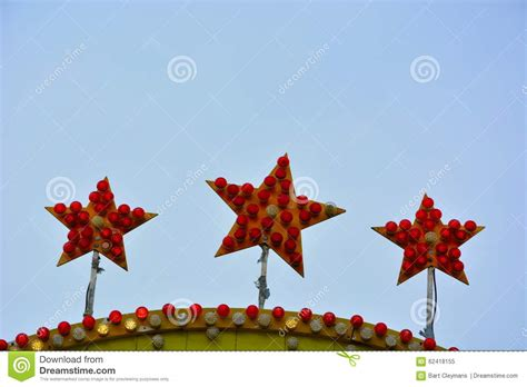 Three Stars Stock Photo