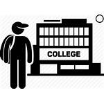 Education Icon College Student Tertiary Academy Icons