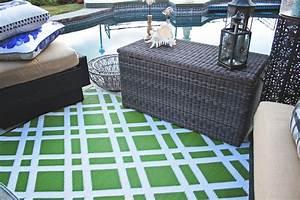 Outdoor Teppich Grün : garten im quadrat outdoor teppich dublin gr n wei ~ Michelbontemps.com Haus und Dekorationen