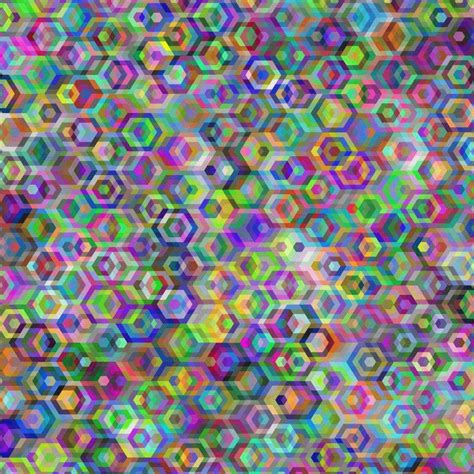artist transforms patterned psychedelic gifs