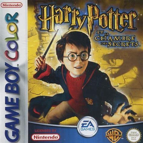 jeu pc harry potter et la chambre des secrets harry potter et la chambre des secrets sur gameboy