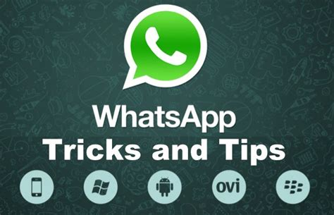 6 whatsapp tricks you must canviar