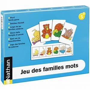 Pro Des Mots 318 : jeu des familles mots ateliers de langage nathan mat riel ducatif ~ Gottalentnigeria.com Avis de Voitures