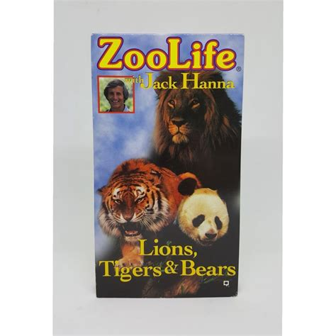 New Zoo Life With Jack Hanna Lions Tigers & Bears VHS ...