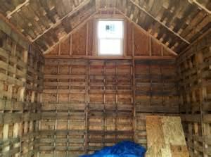 Building Pallet Sheds