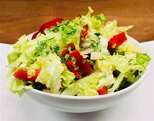 Salat Aus Chinakohl Yum Yum Salat Salat Aus Chinakohl Und