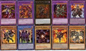 yugioh red eyes black dragon deck flare metal archfiend