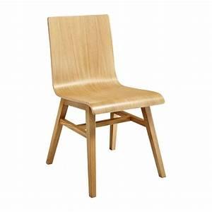 Chaise Chene Massif : ply ii chaise en ch ne massif habitat ~ Teatrodelosmanantiales.com Idées de Décoration