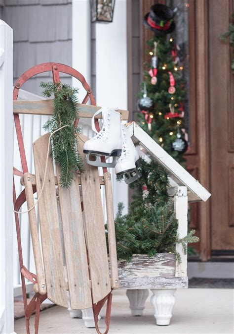 vintage style  outdoor christmas decorations homesfeed