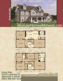two story home floor plans modular home modular homes with open floor plans