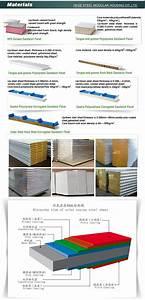 Panneaux Sandwich Pas Cher : polyur thane panneau sandwich ondul toit panneau ~ Melissatoandfro.com Idées de Décoration