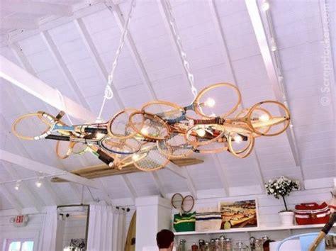 ideas  reutilizar raquetas de tenis en la decoracion