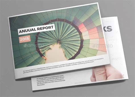 corporate indesign annual report templates web