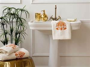 Déco Salle De Bains : les codes de la salle de bains r tro chic elle d coration ~ Melissatoandfro.com Idées de Décoration
