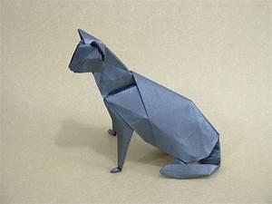 Origami Cat Instructions  1