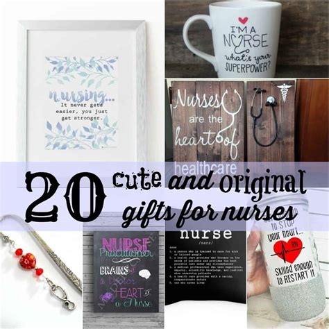 20 cute and original gifts for nurses