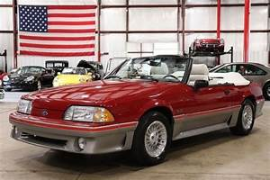 1988 Ford Mustang 12227 Miles Red Convertible 5 0 Liter V8