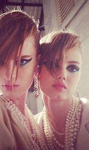 Chanel 2014 runway   CHANEL PRE-SPRING 2014 RUNWAY MAKE-UP ...
