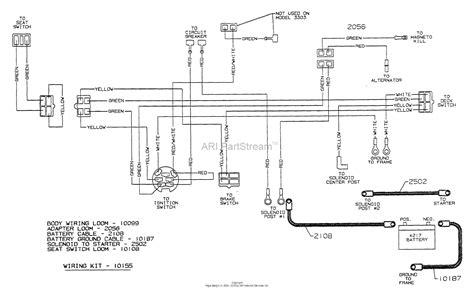 dixon ztr 311 mower wiring diagram wiring library
