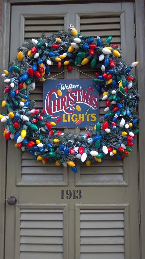 pinterest christmas made out of tulldecorating ideas wreath made out of lights it s the most wonderful time of the year