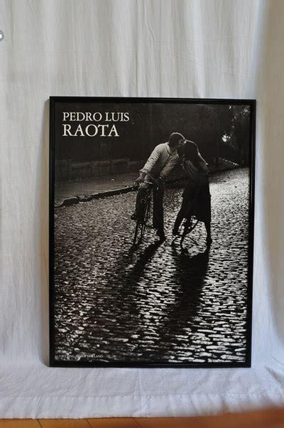 poster  photograph  pedro luis raota depicting