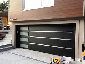 Modern Garage Doors Home Depot : The Holland - Sliding