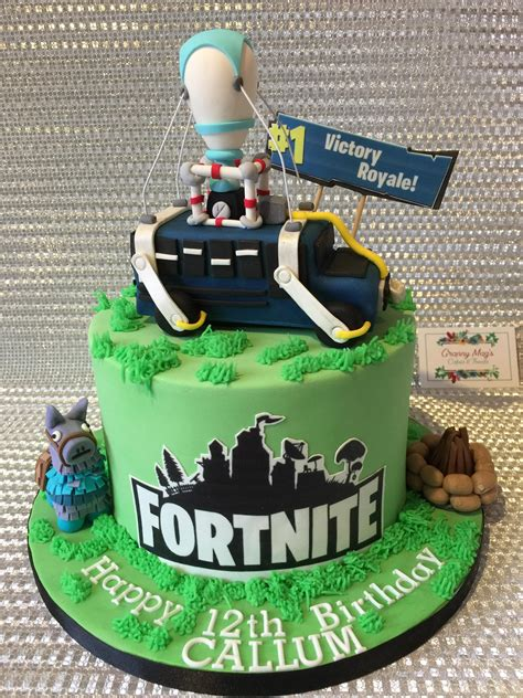 fortnite birthday cake fortnitebr