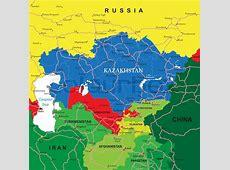 Kasachstan Vektorgrafik Colourbox