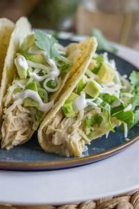 Easy Creamy Crockpot Salsa Verde Chicken Recipe Taco