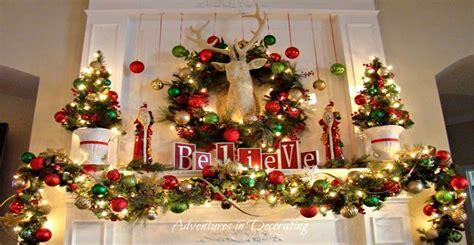 wet forget diy mantel christmas decoration ideas