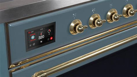 ilve  majestic ii dual fuel range   burners  cu ft oven home outlet direct