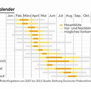 Welche Blumen Blühen Im Oktober : heuschnupfen gr serallergie pollen kalender symptome infos welt ~ Bigdaddyawards.com Haus und Dekorationen
