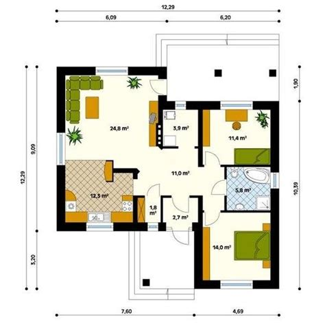 house plans   square meters