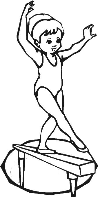 gymnastics coloring page drills pinterest coloring birthdays  colouring pages